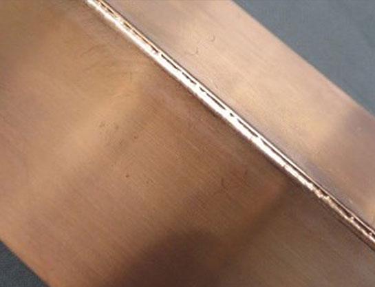 アルミ・ステンレス・銅の溶接 異種金属のサンプル溶接にも対応
