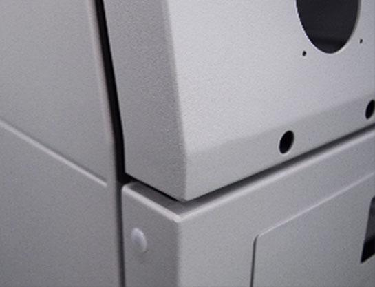大型金属筐体の設計・製造の豊富な実績