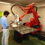 ファイバーレーザー溶接ロボット