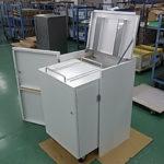 二重構造の書類廃棄用ボックス
