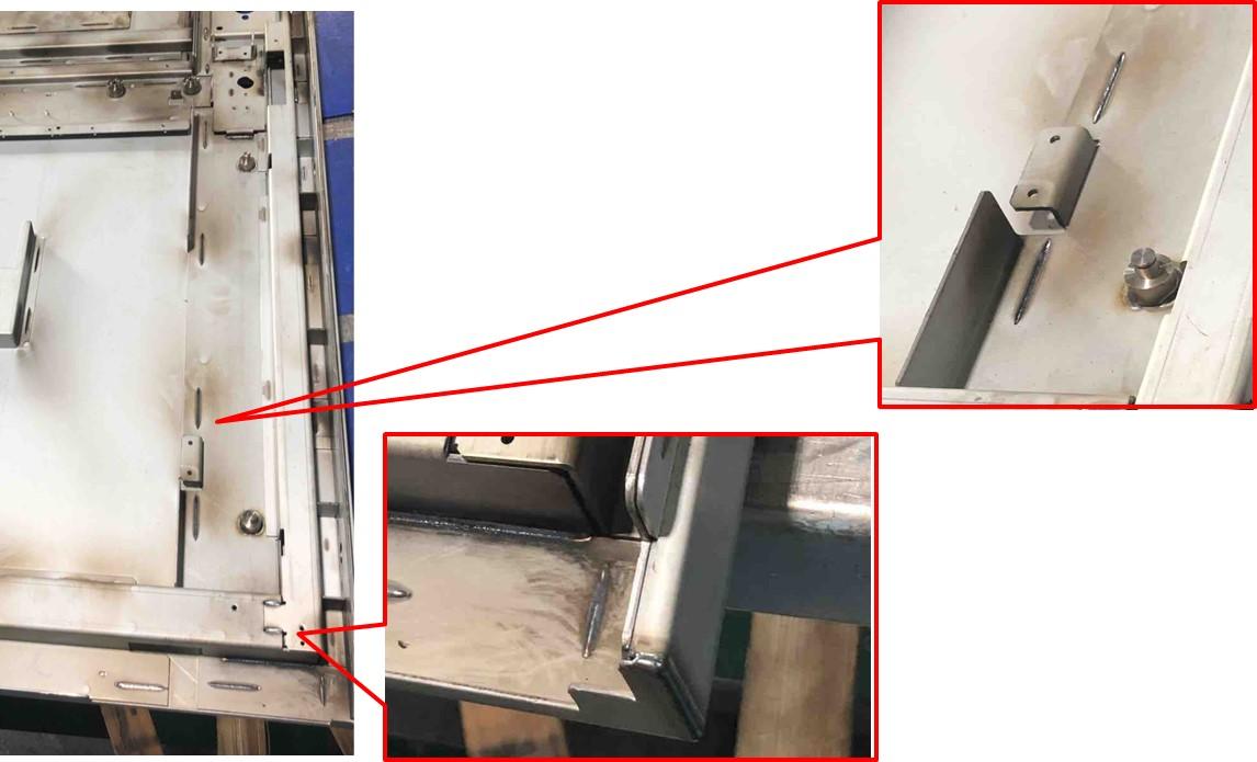 ファイバーレーザーによるスポット溶接と隅肉溶接で生産性向上!
