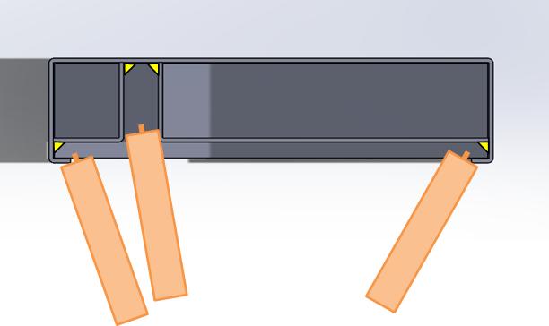 複雑な内部構造でも、ファイバーレーザーによる外からのT継手溶接で解決!